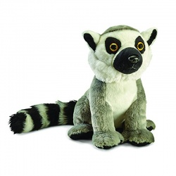 Petjes Anipals Ringtailed Lemur Small Soft Toy