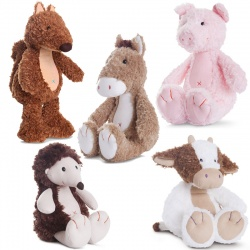 Aurora Natures Friends Plush Soft Toy Selection