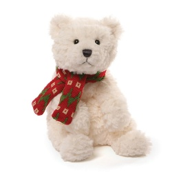 Gund Seasonal Bluster Polar Bear Soft Toy