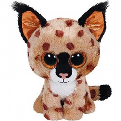 TY Beanie Boo Buckwheat The Lynx Plush Toy Animal