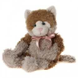 Charlie Bears Bearhouse Caulfield Cat 2014 Plush 41cm Soft Toy