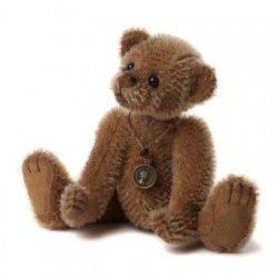 Charlie Bears Minimo Scrap Mohair Teddy Bear