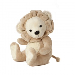 Charlie Bears Baby Boutique Leopold Lion Soft Toy