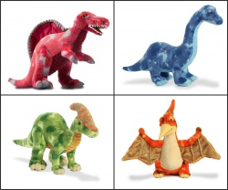 Aurora World Dinosaur Soft Toy Selection Large and Small