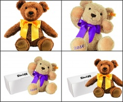 Steiff 2016 or 2017 Cosy Year Bears - Gift Box Option Avalible