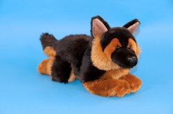 Dowman German Shepherd 38cm Plush Soft Toy