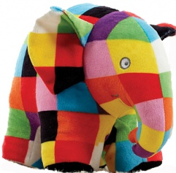 Elmer the Patchwork Elephant 20cm