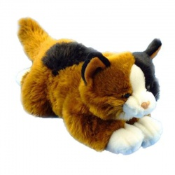 Dowman Floppy Cat Plush Soft Toy Animal