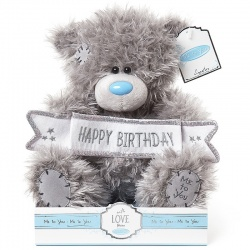 Me to You Birthday Banner Bear