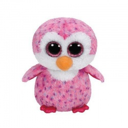 TY Beanie Boo Glider the Pink Penguin