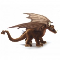 Hansa Great Dragon Miniature Plush Soft Toy Animal