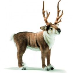 Nordic Reindeer Plush Soft Toy