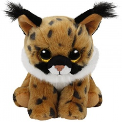 TY Beanie Babies Larry the Lynx Plush Soft Toy Animal