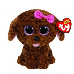 TY Beanie Boo Maddie the Brown Dog