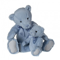 My First Charlie Bear Blue Small