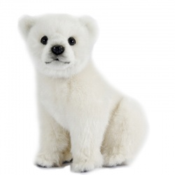 Hansa Polar Bear Cub 24cm Plush Soft Toy