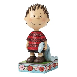 Peanuts Linus with Blanket Figurine By Jim Shore