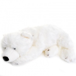 Dowman Polar Bear 71cm Plush Soft Toy