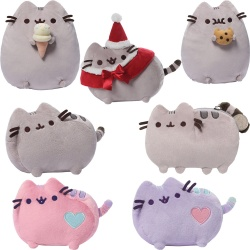 Gund Pusheen The Cat Licensed Plush Soft Toy Selection