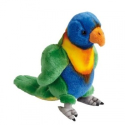 Ravensden Rainbow Lorikeet Plush Soft Toy