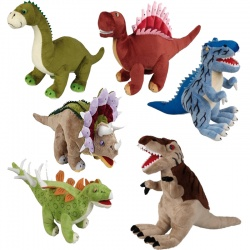 Ravensden Dinosaur Plush Prehistoric Soft Toy Selection