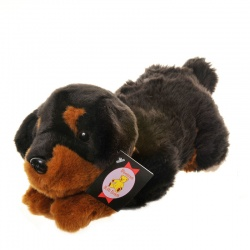 Dowman Rottweiler Plush Soft Toy Dog
