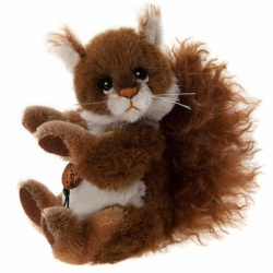 Charlie Bears Minimo Scampeteer Mohair Squirrel Teddy