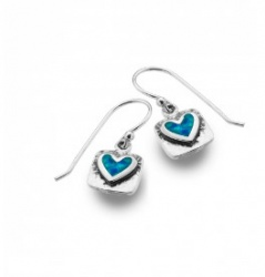 Sea Gems - Sea Blue Love Earrings