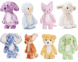 Aurora World Smitties Selection of Plush Animal Soft Toys