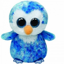 TY  Buddy Ice Cube Blue Penguin