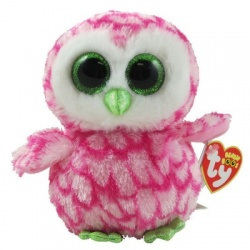 TY Bubbly The Owl Beanie Boo
