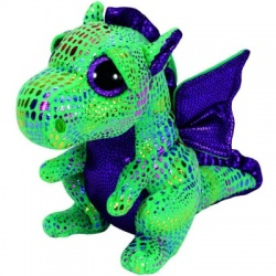 TY Boo Buddy Cinder The Dragon Soft Plush Toy Animal