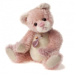 Charlie Bears Mohair Keyring Balletshoe Limited Edition 2013 Teddy Bear