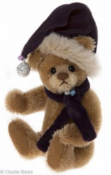 Charlie Bears Mohair Keyring Dangle 12cm Limited Edition 2015 Teddy Bear