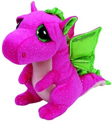 TY Beanie Boo Darla Plush Soft Toy Dragon
