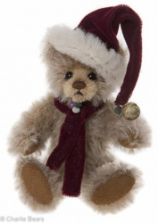 Charlie Bears Mohair Keyring Dingle 12cm Limited Edition 2015 Teddy Bear