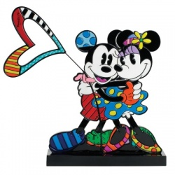 Disney Britto Mickey and Minnie Plaque