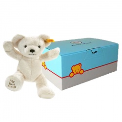 Steiff My First Teddy Cream Gift Boxed