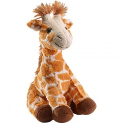 Petjes Giraffe Sitting Large Soft Toy
