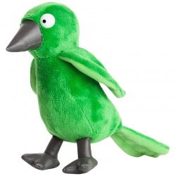 Aurora Room on the Broom 7-inch Green Bird Soft Toy