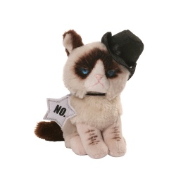 Gund Grumpy Cat Cowboy Soft Toy Animal