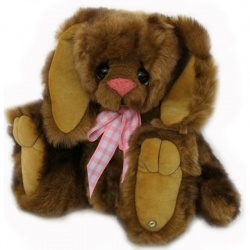 Kaycee Bears Jessica Bunny Plush Teddy Bear