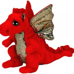 TY Beanie Babies Legend Red Dragon