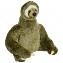 Hansa 3 Toed Sloth Plush Soft Toy Animal