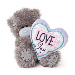 Love You Heart Cushion Me to You Bear