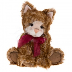 Charlie Bears Secret Collection Mittens Plush Teddy Kitten