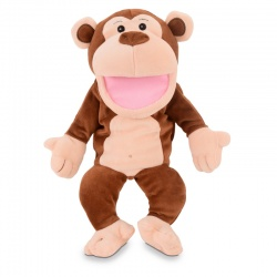 Fiesta Crafts Monkey Hand Puppet Toy