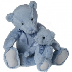 My First Charlie Bear Large in Powder Blue