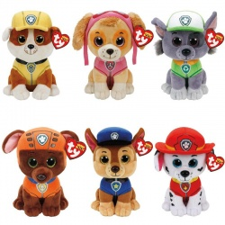 TY Paw Patrol Complete set of 6 Characters