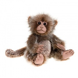 Charlie Bears Pimky Monkey Soft Toy